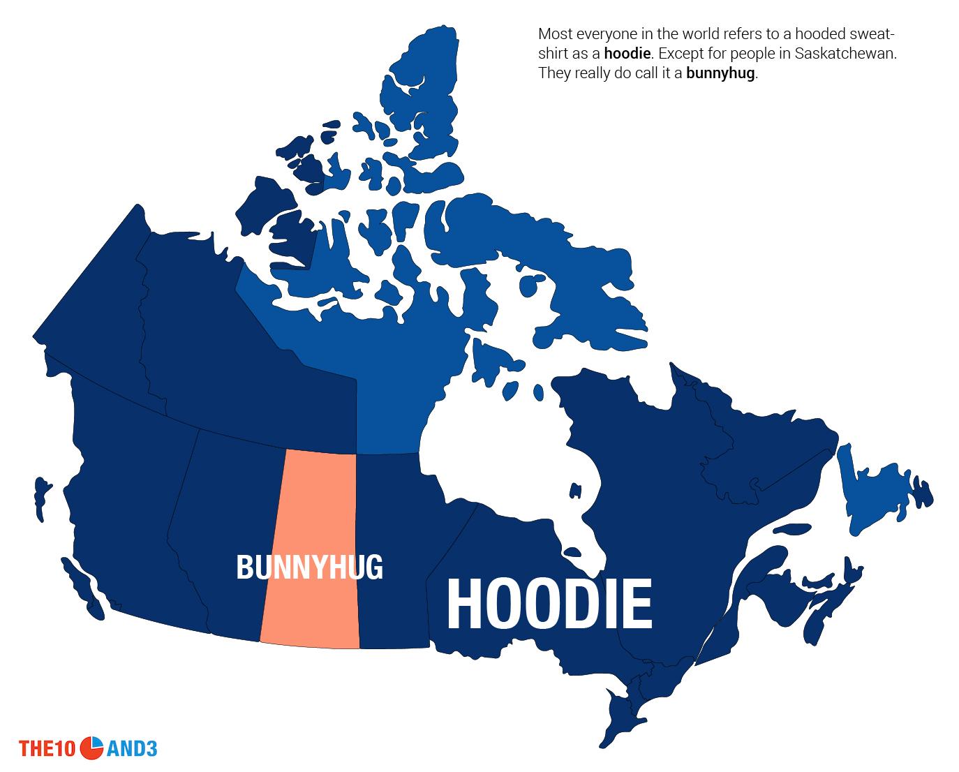 Hoodie vs. Bunnyhug