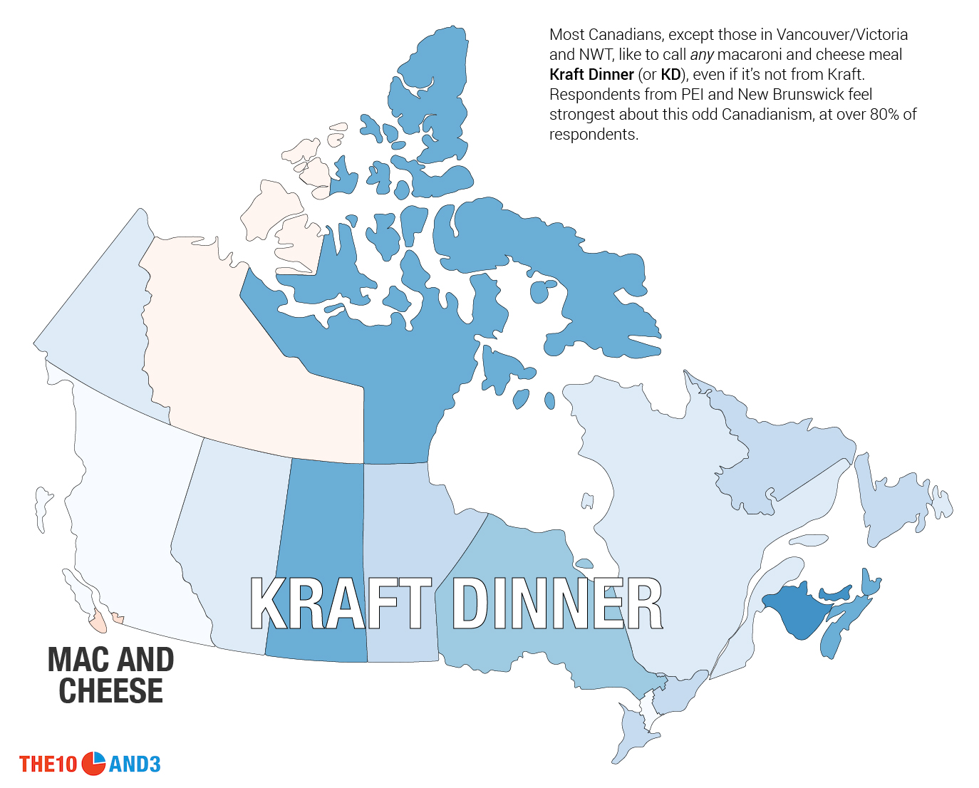 Kraft Dinner vs. Macaroni and Cheese