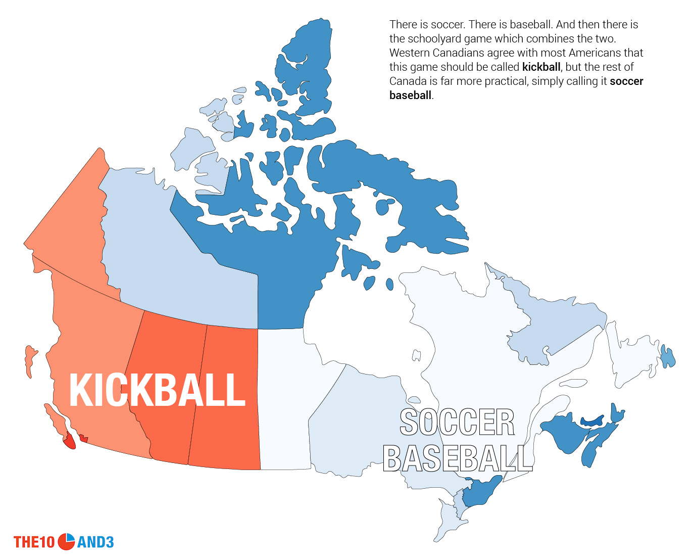Map Of Canada Game.This Is How Canada Talks The 10 And 3