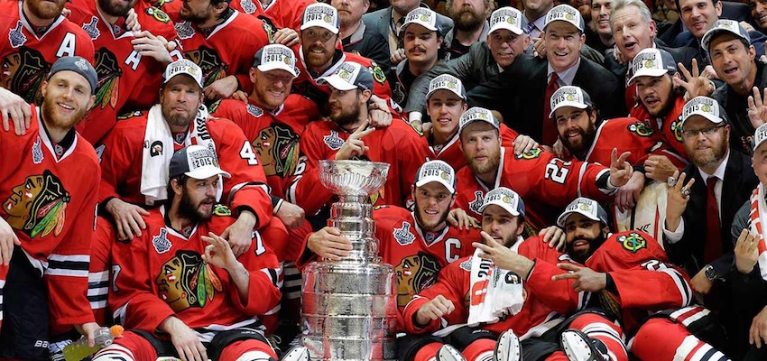 Chicago Blackhawks Stanley Cup Winners