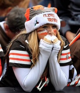 Sad Cleveland Browns Fan