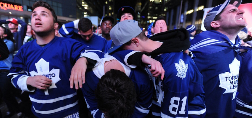 Sad Toronto Maple Leafs Fans