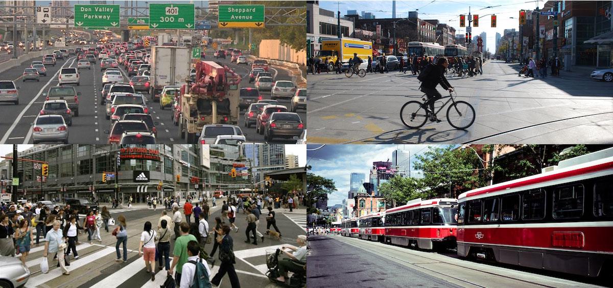 Torontonians Going To Work