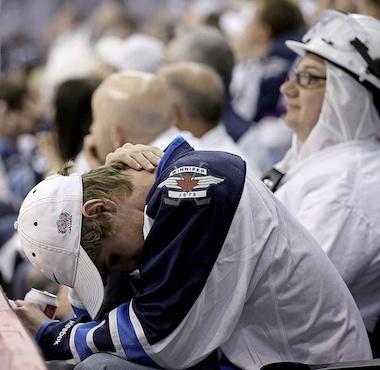 Winnipeg Jets Fan Misery